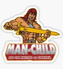Man-Child Sticker