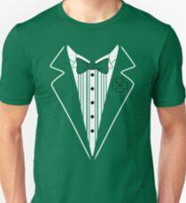 Saint Patrick's Day Tuxedo Unisex T-Shirt