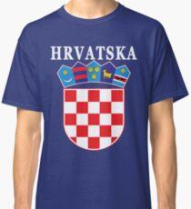 Croatia Hrvatska Deluxe National Jersey Classic T-Shirt
