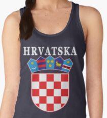 Croatia Hrvatska Deluxe National Jersey Women's Tank Top