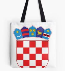 Croatia Hrvatska Deluxe National Jersey Tote Bag