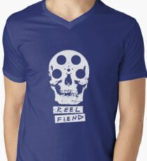 Reel Fiend Men's V-Neck T-Shirt