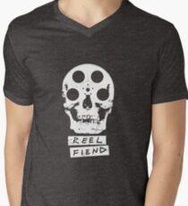 Reel Fiend Mens V-Neck T-Shirt