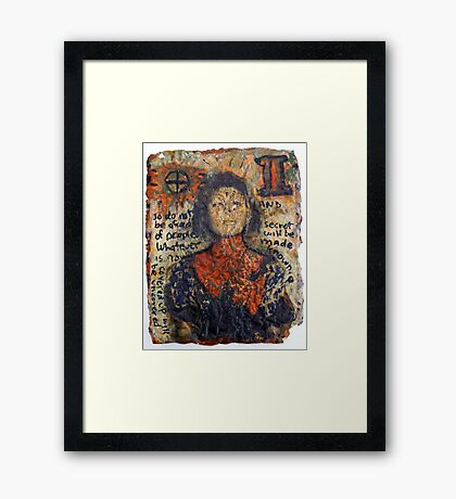 Love Amulets of the Clumsy Duchess 9 Framed Print