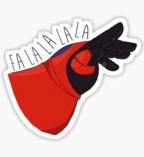 Fancy Fist Bump Sticker