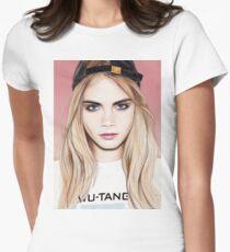 Camiseta entallada Cara Delevigne