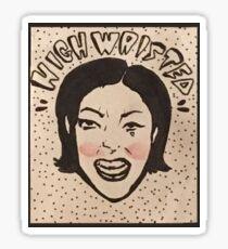 High Waisted  Sticker