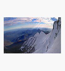 Moonlight Ridge Panorama, Mount Buller Photographic Print
