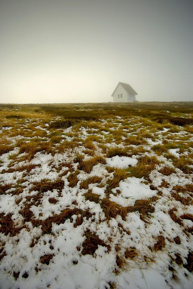 Pendergast Hut, Mount Buller by Craig Mitchell
