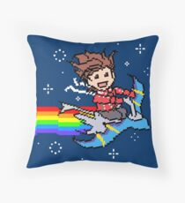 Nyanyanyanyanya Nyan Lloyd! Throw Pillow