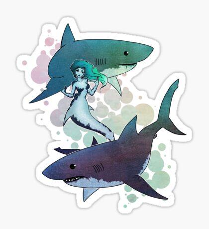Great Whites Sticker