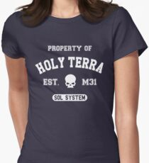 Property of Terra (white) Women's Fitted T-Shirt