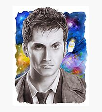 Doctor Who No.10 - David Tennant 1 Photographic Print