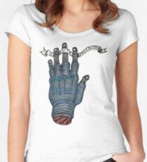 Gotta Understand Hand Women's Fitted Scoop T-Shirt