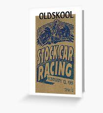Oldskool - Lowbrow Greeting Card
