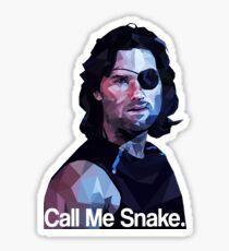 Call me snake. Sticker