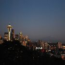 Seattle at Night by Randall Robinson