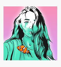 Crying a river Rowan Blanchard Nemo fish Photographic Print