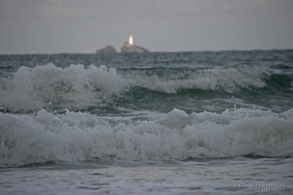 Godrevy Lighthouse by Justine Humphries