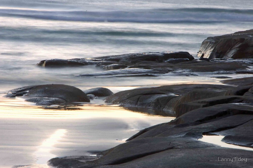 Beach at Sunrise by Lanny Edey