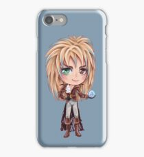 David Bowie - Chibi Labyrinth Goblin King iPhone Case/Skin