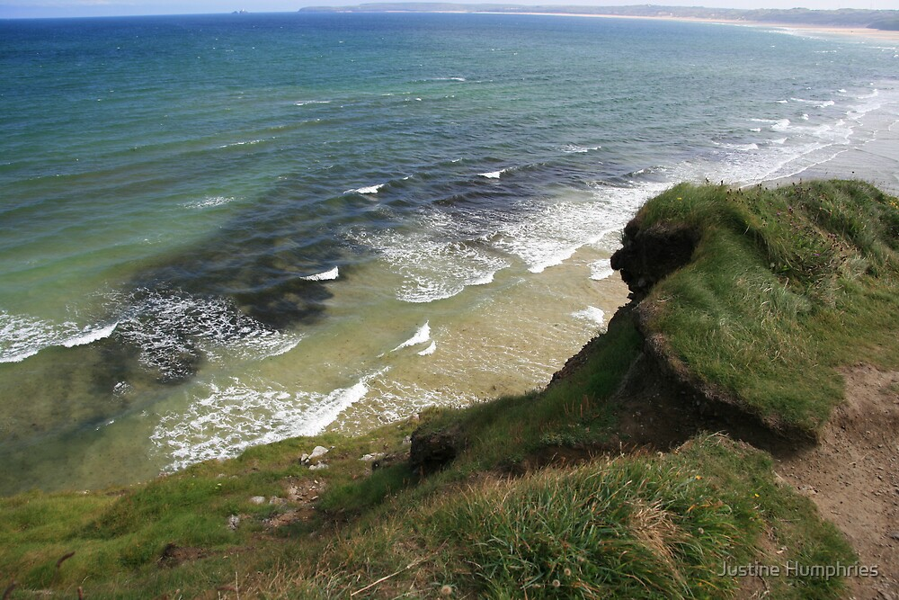 View form the Costal Path by Justine Humphries