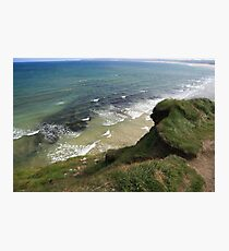 View form the Costal Path Photographic Print