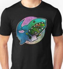I'd rather be a shark Unisex T-Shirt