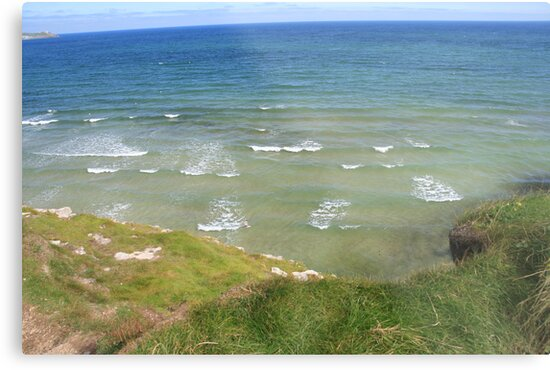 View form the Costal Path II by Justine Humphries