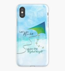 Let's Go Fly a Kite! Inspired by Mary Poppins iPhone Case/Skin