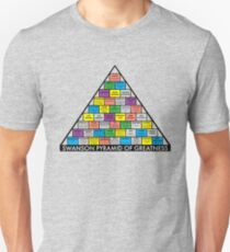 The Swanson Pyramid of Greatness Unisex T-Shirt