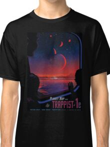 Trappist 1 -- Space Travel Poster Classic T-Shirt