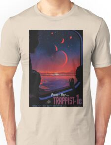 Trappist 1 -- Space Travel Poster Unisex T-Shirt