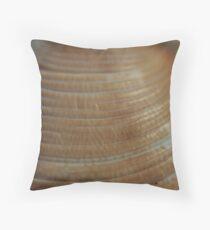Sea shells on the sea shore Throw Pillow