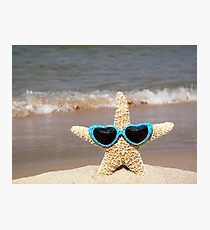 Stylin' Starfish Photographic Print