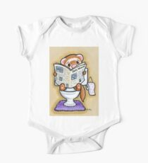 Potty Painting - Reading One Piece - Short Sleeve