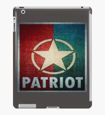 Logo - Patriot iPad Case/Skin