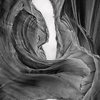 Lady In The Wind - Antelope Canyon by Candy Gemmill