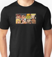 Street Fighter 2 - The Original World Warriors - Clean Unisex T-Shirt