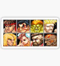 Street Fighter 2 - The Original World Warriors - Clean Sticker