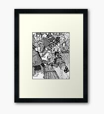 The Great Skate Framed Print