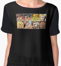 Street Fighter 2 - The Original World Warriors - Dirty Women's Chiffon Top