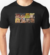 Street Fighter 2 - The Original World Warriors - Dirty Unisex T-Shirt