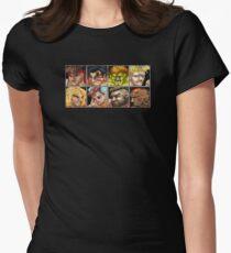 Street Fighter 2 - The Original World Warriors - Dirty Womens Fitted T-Shirt