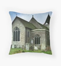 St Nicholas Church Leeds Kent Throw Pillow