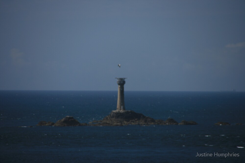 Lighthouse at Lands End by Justine Humphries