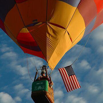 American Hot Air Balloon by ritesideup