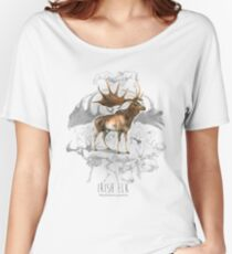 Irish Elk Women's Relaxed Fit T-Shirt