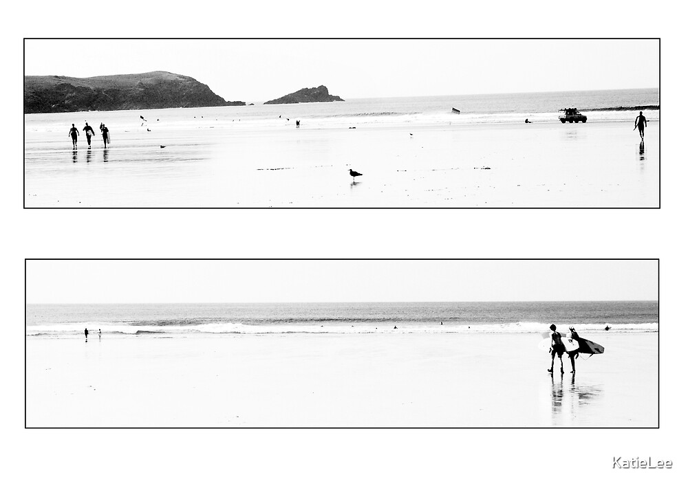 Fistral Beach - cornwall by KatieLee
