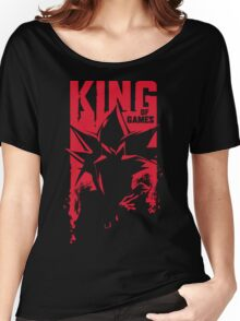 King of Games Women's Relaxed Fit T-Shirt